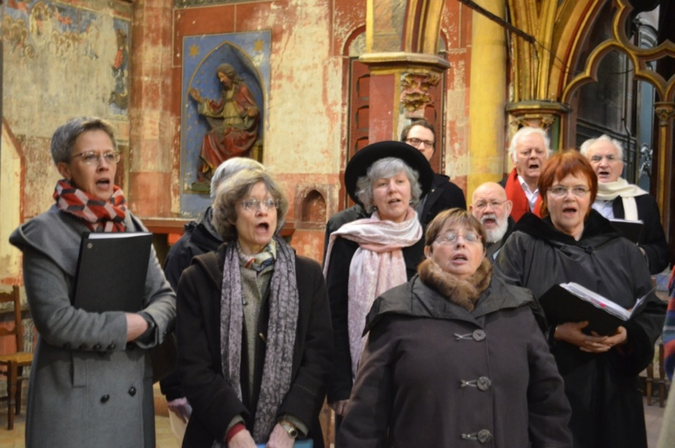 Rencontre chorale st amand