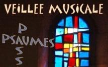 13 avril : Veillée musicale - Passion - Psaumes