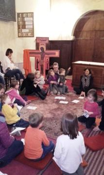 Eveil à la foi pour les petits enfants