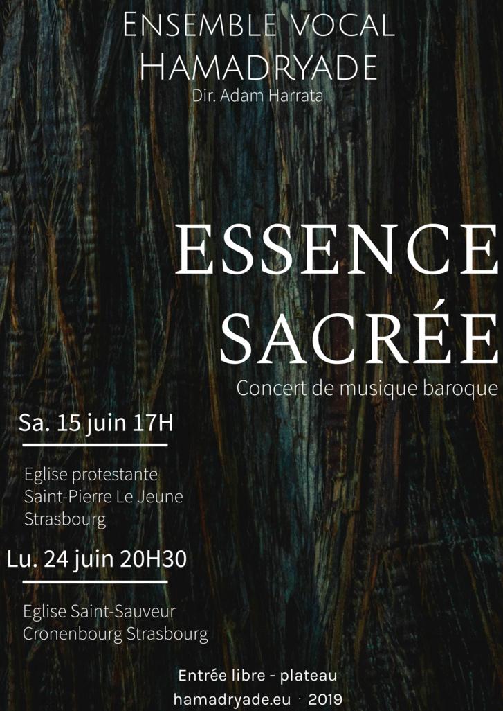 Concert du 15 juin à 17h : Ensemble vocal Hamadryade