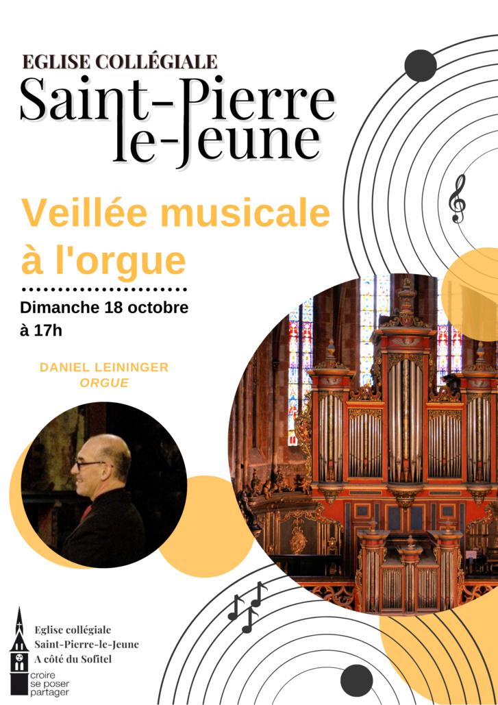 Veillée musicale à l'orgue