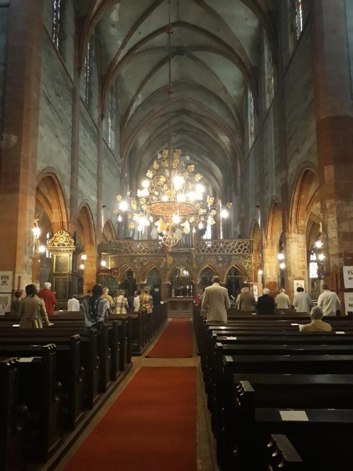 Cultes en l'église Saint-Pierre-le-Jeune