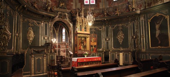 Le décor baroque de Saint Pierre le Jeune