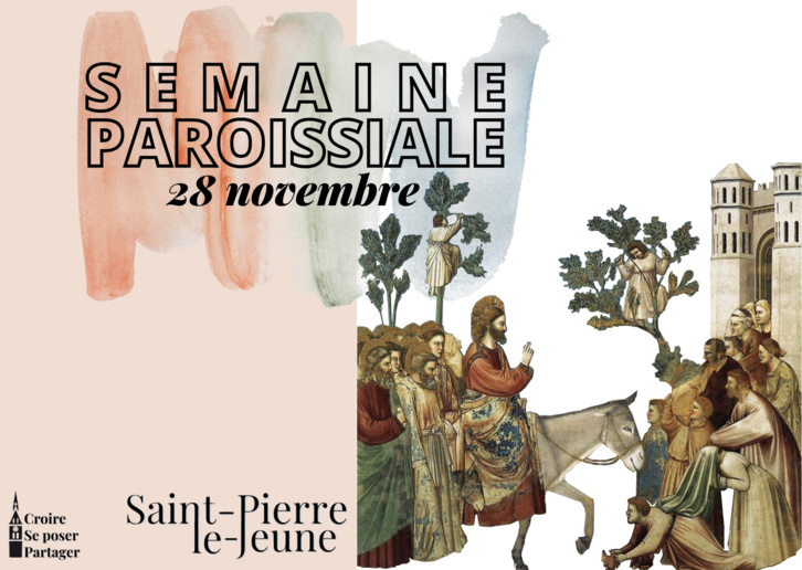 Semaine paroissiale - 28 novembre 2020