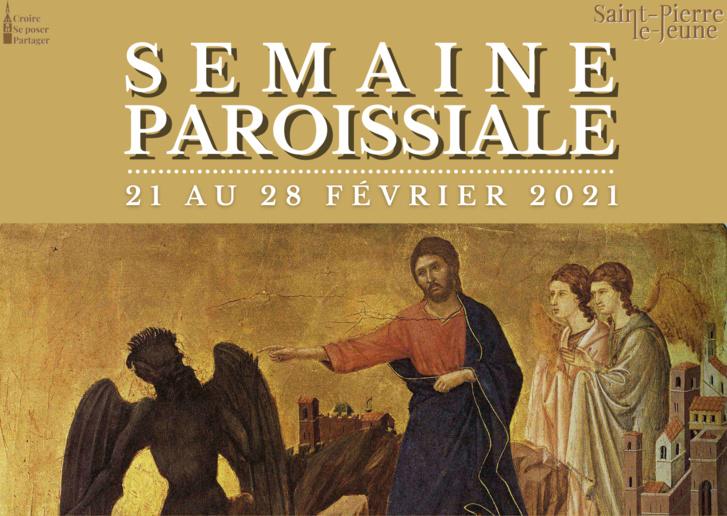 Semaine paroissiale - 21 février 2021