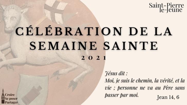 Célébration de la Semaine sainte 2021