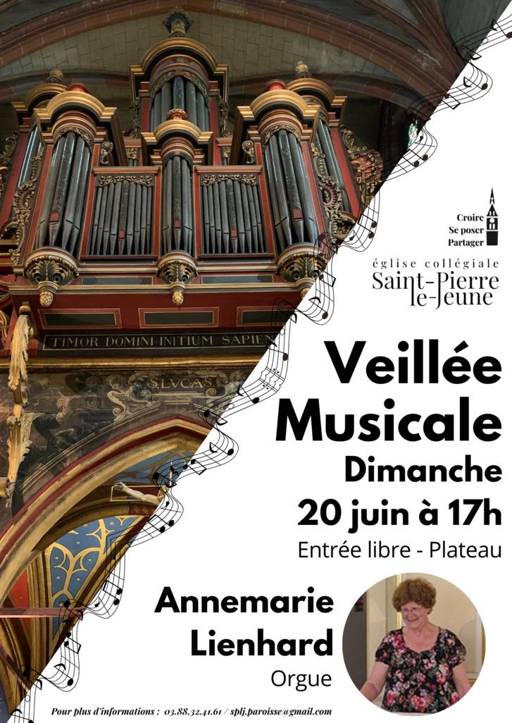 Veillée musicale - 20 juin 2021