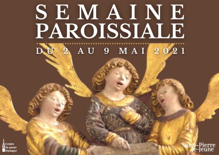 Semaine paroissiale - 2 mai 2021