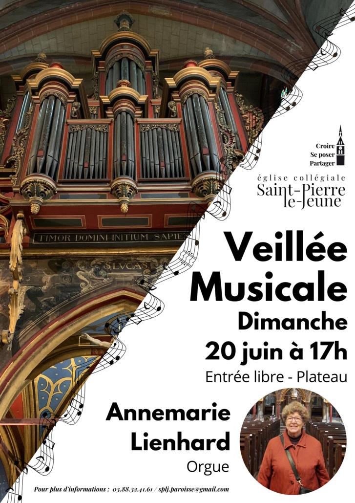 Veillée musicale - Dimanche 20 juin 2021