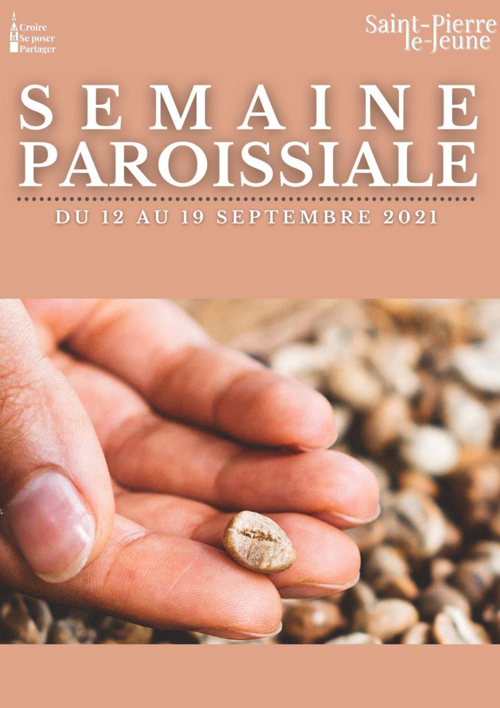 Semaine paroissiale - 12 septembre 2021