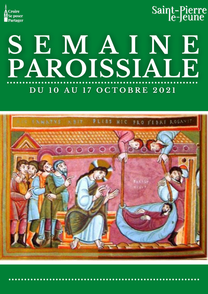 Semaine paroissiale - 10 octobre 2021