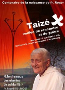 Prière de Taizé / Eglise protestante Saint-Pierre-le-Jeune