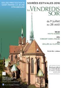 Les VENDREDIS SOIR à Saint-Pierre-le-Jeune 2016