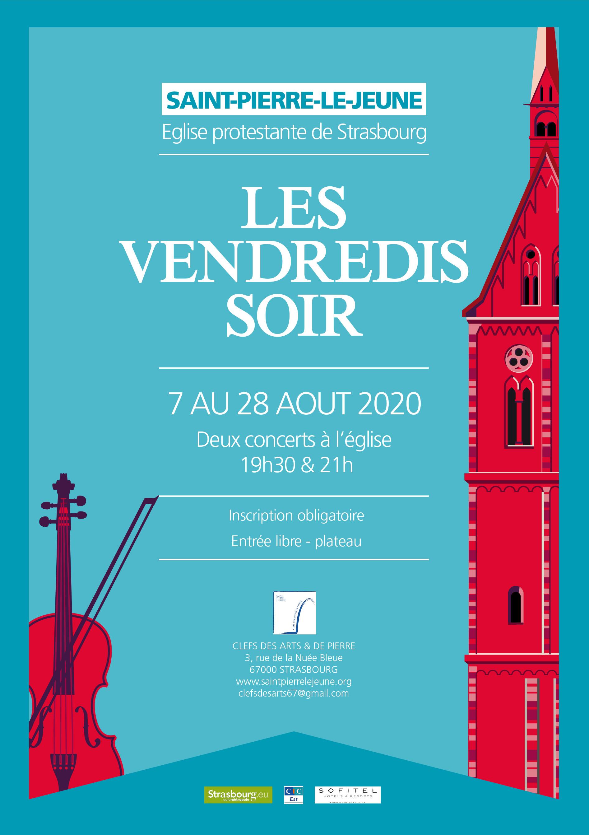Les vendredis soir à Saint-Pierre-le-Jeune 2020
