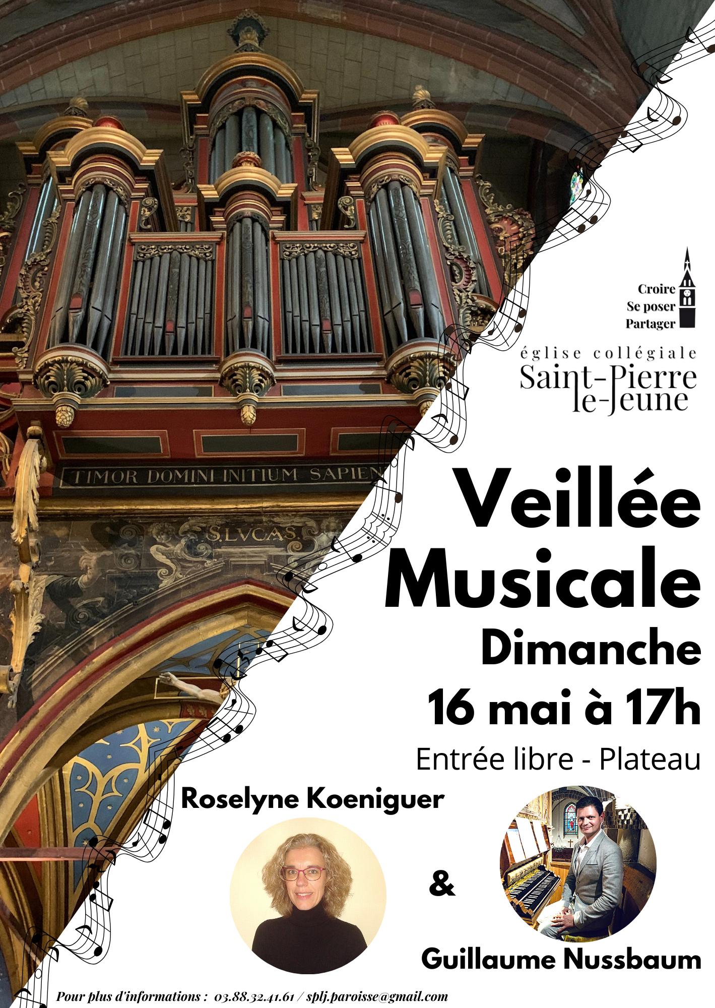 Veillée musicale - Dimanche 16 mai 2021
