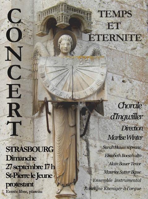 Concert Temps et éternité