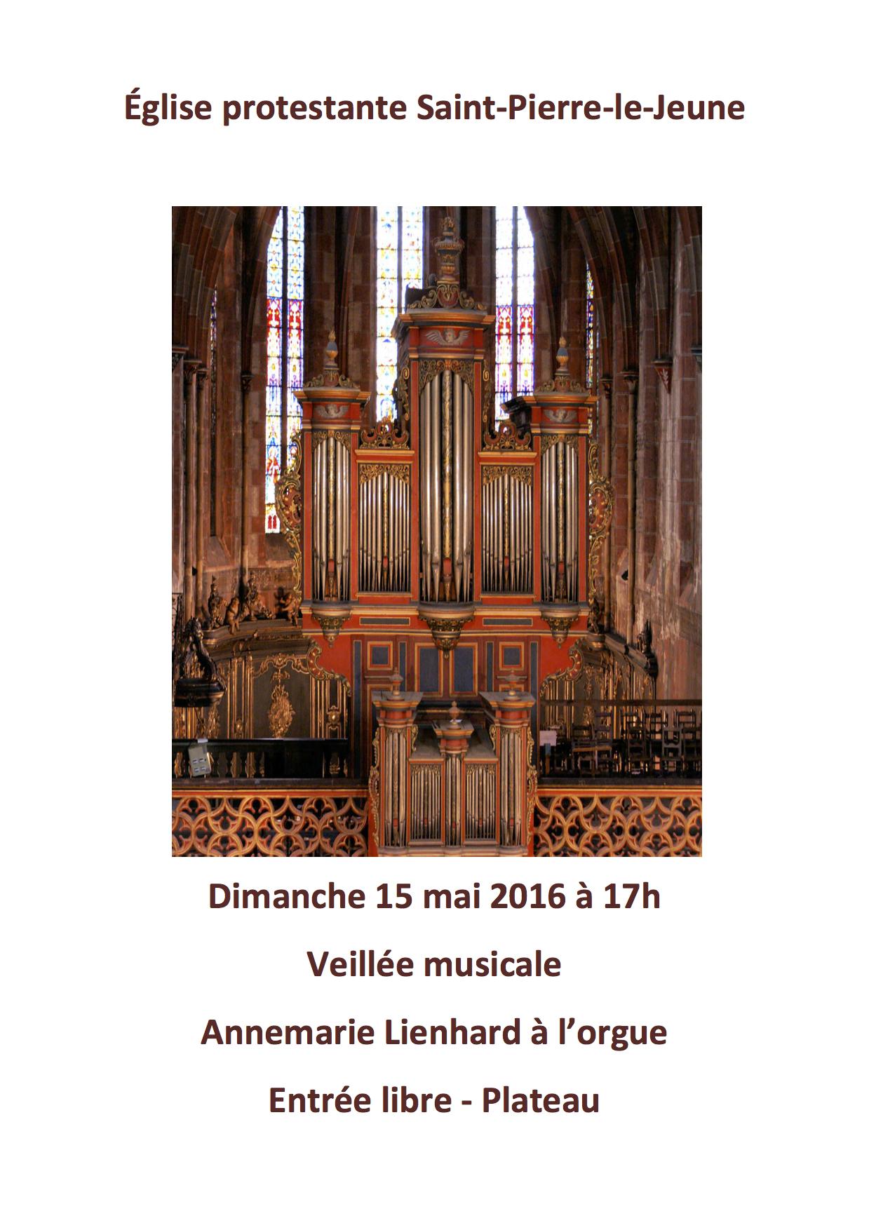 La semaine paroissiale - 15 mai 2016