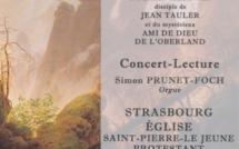 10 mars 2017 : Concert-lecture La voix des neuf rochers