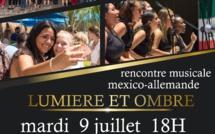 Concert du mardi 9 juillet à 18h : Rencontre musicale mexico-allemande