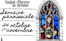 Semaine paroissiale -  24 octobre 2020