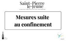 Mesures suite au confinement