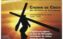 Chemin de Croix des chrétiens de Strasbourg