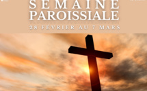 Semaine paroissiale - 28 février 2021