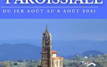 Semaine paroissiale - 1er août 2021