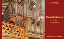 Daniel Maurer à l'orgue Silbermann de Saint Pierre le Jeune