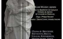 Concert du chœur et de l'orchestre de chambre de l'Université de Strasbourg